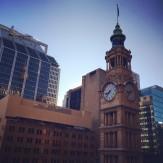 Sydney clock