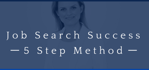 Job Search Success - 5 Step Method - Cover